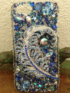 Precious Peacock iPhone 5 Case by Kianaskases on Etsy, $72.00