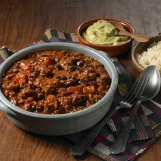 Bonfire Night spicy chilli-con-carne