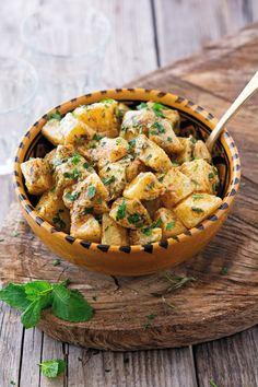 Moroccan Potato Salad, Vegan, gluten-free