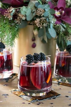 New Year's Eve Sangria Bar with @fronterawine // Entertaining // New Years // BetterAfterDark
