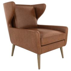 DwellStudio Cooper Leather Chair @Zinc_Door