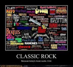 Classic Rock...... Didn't know Nirvana was classic rock, but ok :)