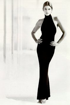 supermodel - Cindy Crawford-- well not quite but love the lines