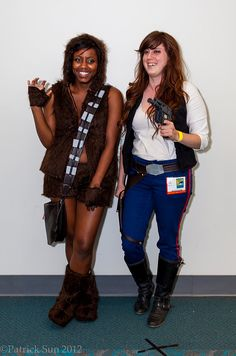 Chewbacca and Han Solo — the perfect BFF costumes!