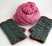Free pattern for Cranford mitts.