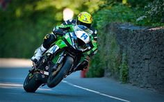 The Isle of Man TT races: a beginner's guide. Race dates are May 27th - June 7th 2013.   TT refers to the original title of the race- Tourist time trial. The race is held on public roads with riders reaching up to 190 mph. on the roughly 37 mile course with six laps covered in just over an hour.   The riders are definitely gutsy folk trusting their machines. Look up some video of this crazy fast and technical road course.
