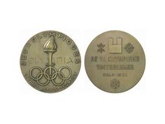 Oslo 1952 Winter Games Olympic Medal Youth Olympic Games, Olympic Medals, Winter Games, Winter Olympics, Oslo, Joy, Dreams, Winter, Winter Olympic Games