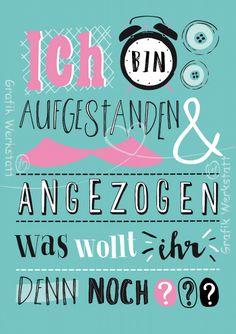 Ich Bin Aufgestanden   Postkarten   Grafik Werkstatt Bielefeld