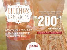 Campanha de namorados desenvolvida pela Agência Conceito.