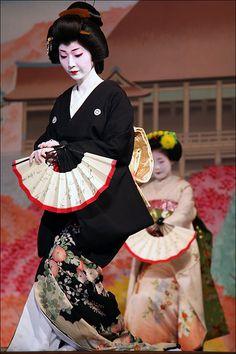 Danseuses au Japon