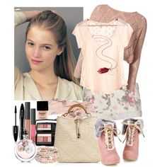 """Rosey simplicity"" by sharpaytisdale on Polyvore"