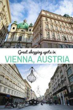Click through to read more about the best shopping spots in Vienna, Austria, and other travel tips for visiting this gorgeous city!