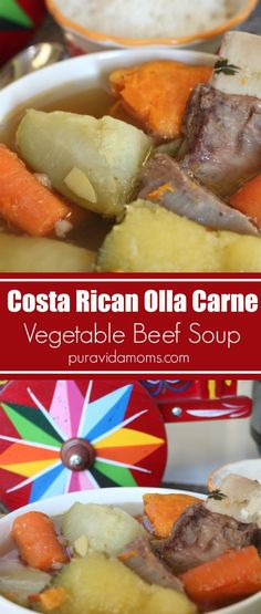Olla Carne is one of the most popular dishes in Costa Rica- and so easy to recreate at home with a few simple ingredients. You'll love this olla carne recipe for the whole family- even as a first food for baby.