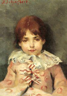 Little Rika.: Helene Schjerfbeck