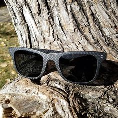 Carbon fiber sunglasses make you look good while helping protect your eyes from those harmful UV rays. Made from premium lightweight materials, these sunglasses keep you performing at your best while you have fun in the sun. Carbon Fiber Sunglasses, You Look, Have Fun, Eyes, How To Make, Collection, Style, Fashion, Moda