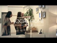 """How to advertise tailor made houses avoiding common place : by preparing a unique visit using social networks information - """"The Social Home Tour"""", for Carvalho Hosken, real estate agency, by agency Artplan, Rio de Janeiro, Brazil"""