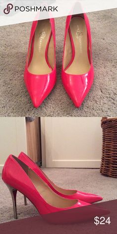 Hot pink pointed heels! Pink Rock & Republic Shoes Heels