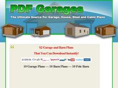 Download Plans To Build A Garage Pdfgarages.com