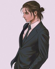 Eren E Levi, Eren And Mikasa, Attack On Titan Eren, Attack On Titan Fanart, All Out Anime, Hot Anime Guys, Fanarts Anime, Anime Characters, Attack On Titan Aesthetic