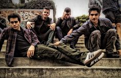 Dylan O'Brien, Charlie and Max Carver and Tyler Posey