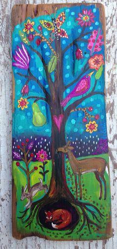 Magical Woodland Folk Wall Decor on Etsy, $78.00