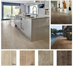 it's tile that looks like wood  Walker Zanger Nature Collection