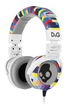 Dolce & Gabbana x Skullcandy Headphones