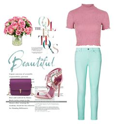 """Very Floral"" by styleislikemycoffee ❤ liked on Polyvore featuring Ralph Lauren, Topshop and INC International Concepts"