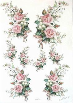 Decoupage Vintage, Vintage Paper, Deco Podge, Image 3d, Vintage Rosen, Fairy Lanterns, 3d Prints, Vintage Labels, Paper Background