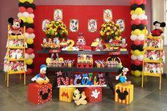 Aluguel de Decoração Turma do Mickey