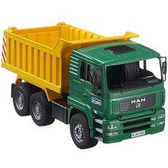 Bruder Toy MAN Dump Truck - Educational Toys Planet