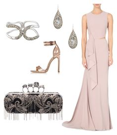 """Maggie Oscar"" by laura-held on Polyvore featuring Alexander McQueen, River Island and Alexis Bittar"