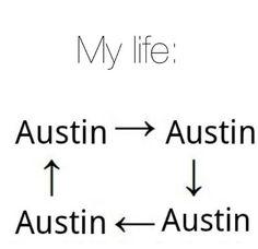 """My life""   Basically."