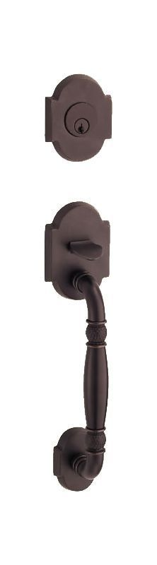 Fusion N1DUMMY Dummy Handleset with a Textured Handle Featuring a Two-Piece Beve