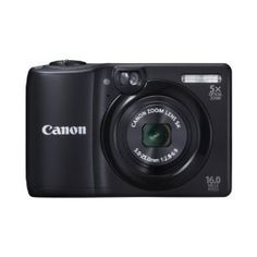 Canon PowerShot A1300 16.0 MP Digital Camera with 5x Digital Image Stabilized Zoom 28mm Wide-Angle Lens with 720p HD Video Recording