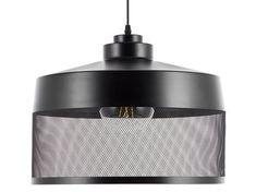 Černá závěsná lampa CARDENER Black Ceiling, Black Lamps, Pendant Lamp, Pendant Lighting, Lamp Light, Light Bulb, Ceiling Lamp, Ceiling Lights, Black Pendant Light