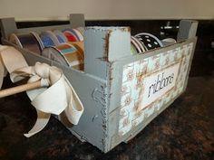 Mandarinenkiste sorgt für Ordnung... Life, Made Interesting.: Clementine Crate Ribbon Rack