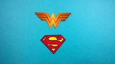 100 Super Homem/Mulher Maravilha | petilola | Elo7
