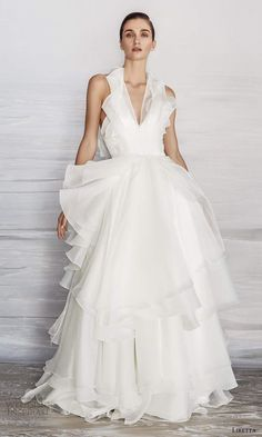 Most Beautiful Wedding Dresses, Minimalist Wedding Dresses, Bridal Collection, Wedding Gowns, One Shoulder Wedding Dress, Ball Gowns, Wedding Inspiration, Bride, Train