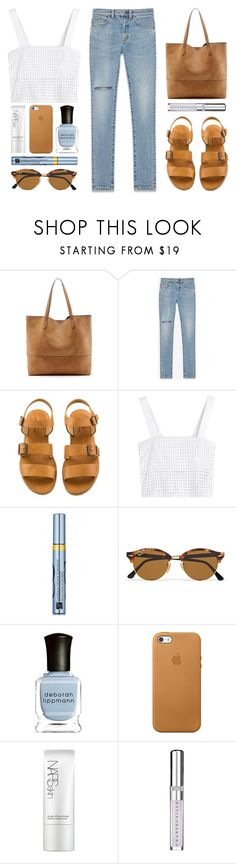 """//Our rules, our dreams//"" by the-key-to-my-heart ❤ liked on Polyvore featuring Sole Society, Yves Saint Laurent, 3.1 Phillip Lim, Estée Lauder, Ray-Ban, Deborah Lippmann, NARS Cosmetics and Chantecaille"
