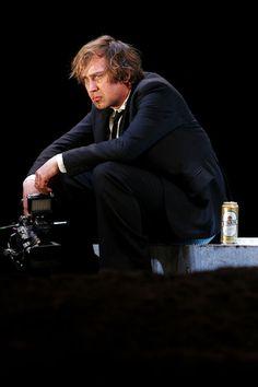 Schaubuhne production of Hamlet with Lars Eidinger