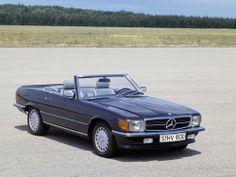 1971-1989 Mercedes-Benz R 107 SL Class - 560 SL after 1985 Facelift 2 - 1920x1440 - Wallpaper