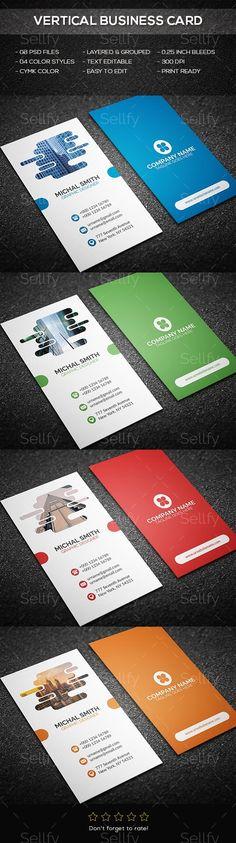 Vertical Business Card Business Cards - Business Cards Print Templates #businesscard #businesscards #verticalbusinesscard #business-card #modern-business-card-template #PrintTemplates #cartevisit #carte-visit #sellfy #graphicriver #Print #Templates #Business #Cards #BusinessCards #Business-Cards #Creative #Design