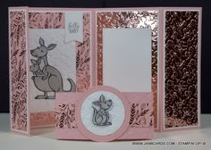 Fun Fold Cards, Folded Cards, Stationary Box, Blessed Sunday, New Baby Cards, Embossing Folder, New Baby Products, Card Stock, Stampin Up