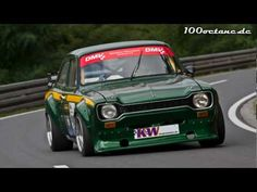Ford Escort MK I - Stefan Glass - Bergrennen Unterfranken. Ford Sport, Ford Rs, Car Ford, Mustang Old, Escort Mk1, Sports Car Racing, Race Cars, Ford Classic Cars, Ford Motor Company
