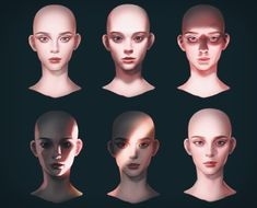 How to Art — Face Lighting by Duff allo Digital Painting Tutorials, Digital Art Tutorial, Art Tutorials, Tutorial Sombra, Eye Tutorial, Drawing Lighting, Portrait Lighting, Art Sketches, Art Drawings