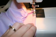 Sewing cloth diapers