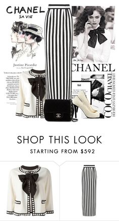 """""""Bez naslova #204"""" by missbradshaw13 ❤ liked on Polyvore featuring Chanel, Moschino and Dolce&Gabbana"""