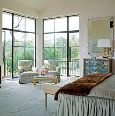 Beautiful Bedroom Sitting Areas | Traditional Home