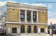 An old postcard of the Colonial Theatre, Pittsfield, Mass. C. 1918.